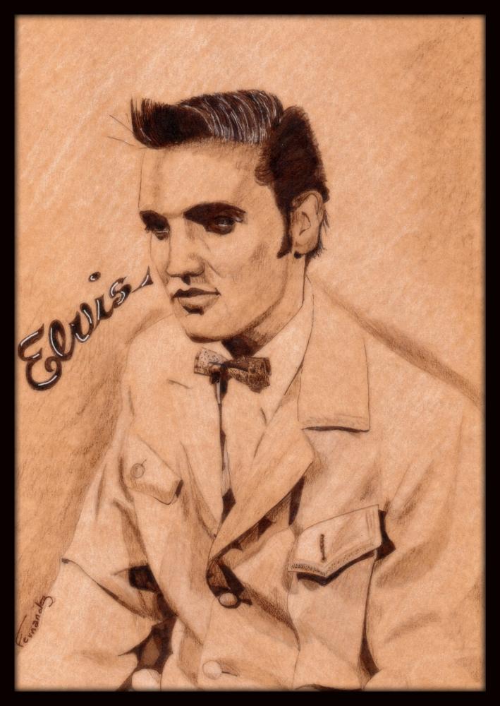 Elvis Presley by Clint